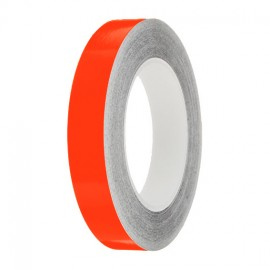 Orange Gloss Colour Pin Stripe tapes, 50m roll, sticky self-adhesive, vinyl decal line tape