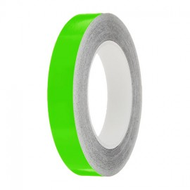 Lime Gloss Colour Pin Stripe tapes, 50m roll, sticky self-adhesive, vinyl decal line tape