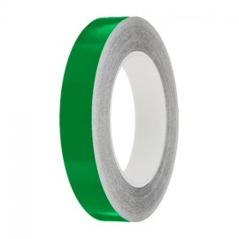 Mid Green Gloss Colour Pin Stripe tapes, 50m roll, sticky self-adhesive, vinyl decal line tape
