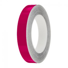 Magenta Gloss Colour Pin Stripe tapes, 50m roll, sticky self-adhesive, vinyl decal line tape