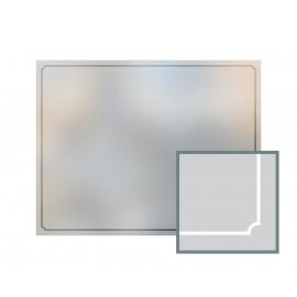 Bespoke window frame cut out, frosted, custom, decorative, home window film WF 02