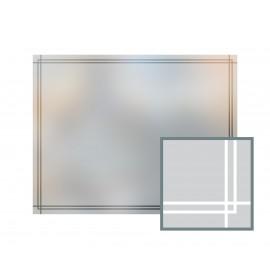 Bespoke window frame cut out, frosted, custom, decorative, home window film WF 04