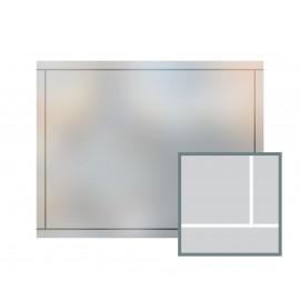 Bespoke window frame cut out, frosted, custom, decorative, home window film WF 07