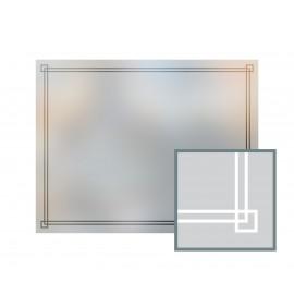 Bespoke window frame cut out, frosted, custom, decorative, home window film WF 11
