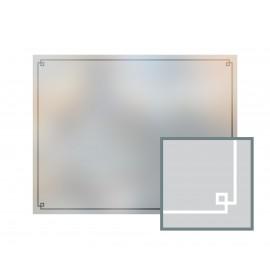 Bespoke window frame cut out, frosted, custom, decorative, home window film WF 12