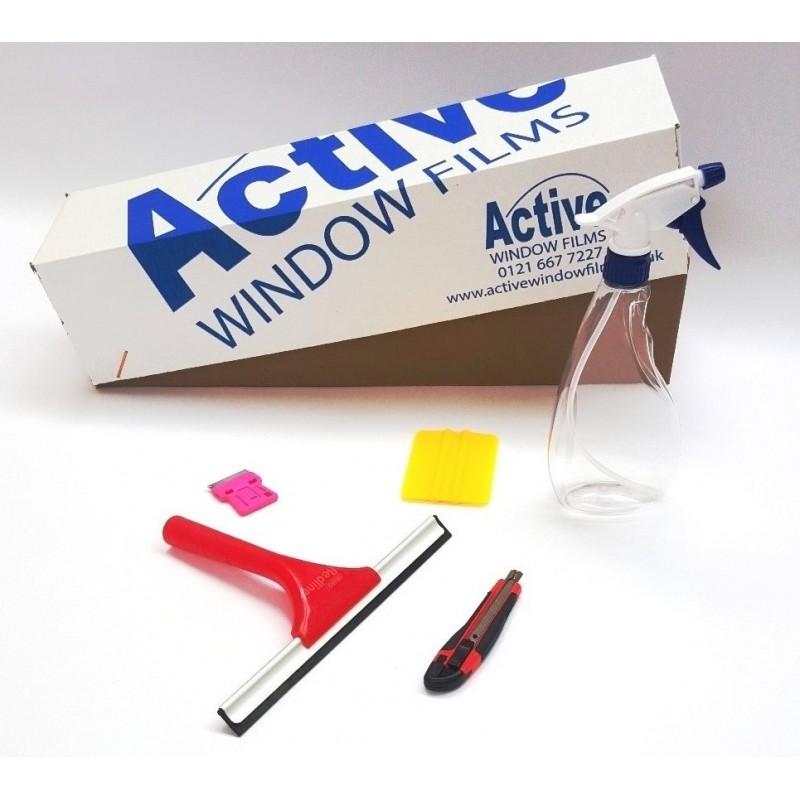 Window Film Flat Glass Fitting Tool Kit Basic Plus
