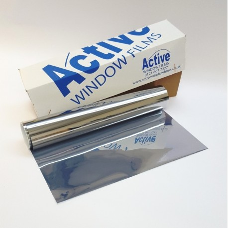 Mirror One Way, Safety & Security Window Film / Glass Protection / Sticky Back / 150 Micron