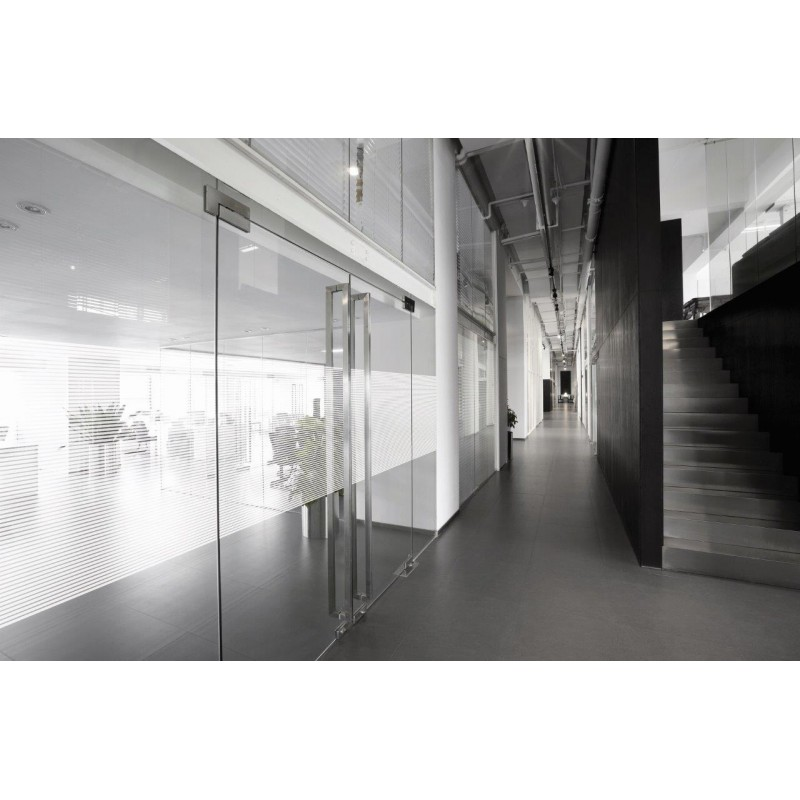 10mm Horizontal Striped Window Film Martha Active
