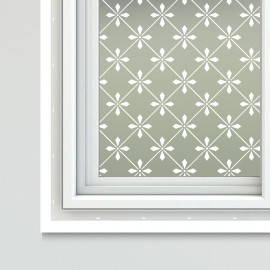 Victorian Theme Decorative Period Frosted Window Film
