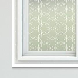 Art Nouveau Theme Window Film Sheets Chiyoko