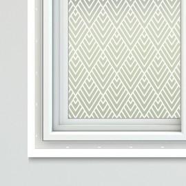Art Nouveau Theme Window Film Sheets Fumiko