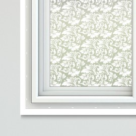 Floral Theme Window Film Sheets Azami