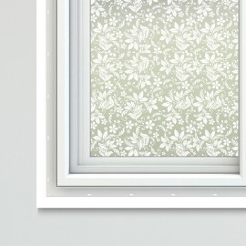 Floral Theme Window Film Sheets