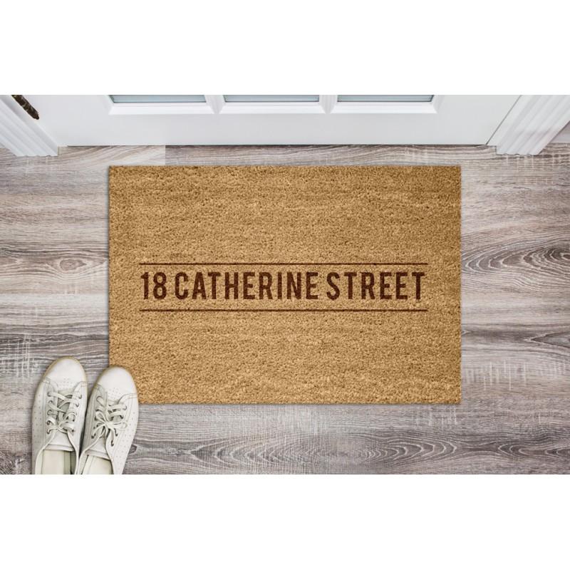 Personalised Quality Genuine Coir Door Welcome Mat