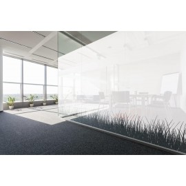 Grass Garden effect Frosted Pattern, Decorative Patterned Window Film