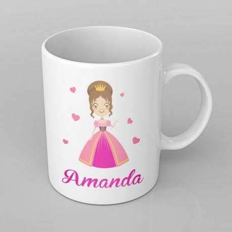 Princess design PERSONALISED Mug any name, Custom Made