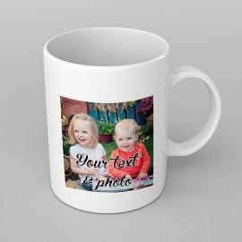 Custom Photo design PERSONALISED Mug any name, any picture, Custom Made