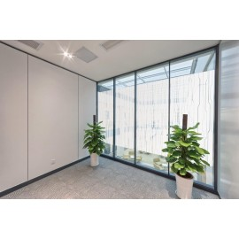 Contemporary Vertical Striped Window Film - Nue