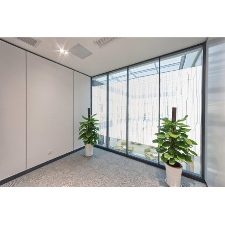 Obscure Contemporary Running Lines, Window Film, Privacy Decorative Film 50cm, 76cm. 100cm, 152cm
