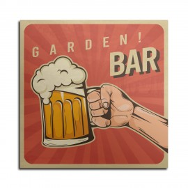 Aluminium High Quality Wall Bar Sign