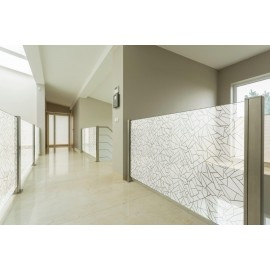 Off Beat Tiled Window Film - Meira