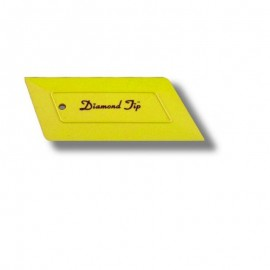 YELLOW DIAMOND TIP SQUEEGEE HARD CARD