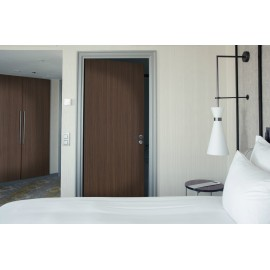Cover Styl' - E2 Dark Wapa Wood Self Adhesive Sticker, Vinyl Window Wall Door Furniture Covering