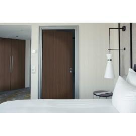 Cover Styl' - E2 Dark Wapa Wood Self Adhesive Sticker, Vinyl Window Wall Door Furniture Covering