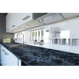 Cover Styl' - U4 Black Marble Self Adhesive Sticker, Vinyl Window Wall Door Furniture Covering
