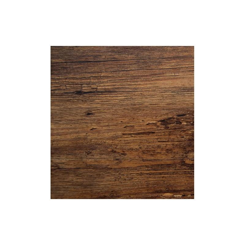 F2 Rich Brown Wood Self Adhesive Vinyl Wall Door