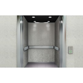 Cover Styl' - Q2 Brushed Silver Self Adhesive Sticker, Vinyl Window Wall Door Furniture Covering