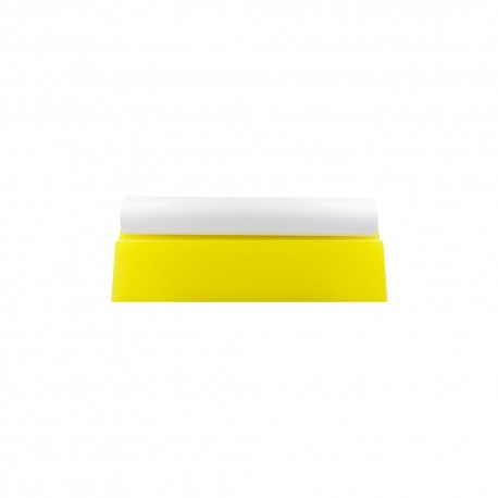 "5.5"" Soft Yellow Turbo Squeegee + Handle"