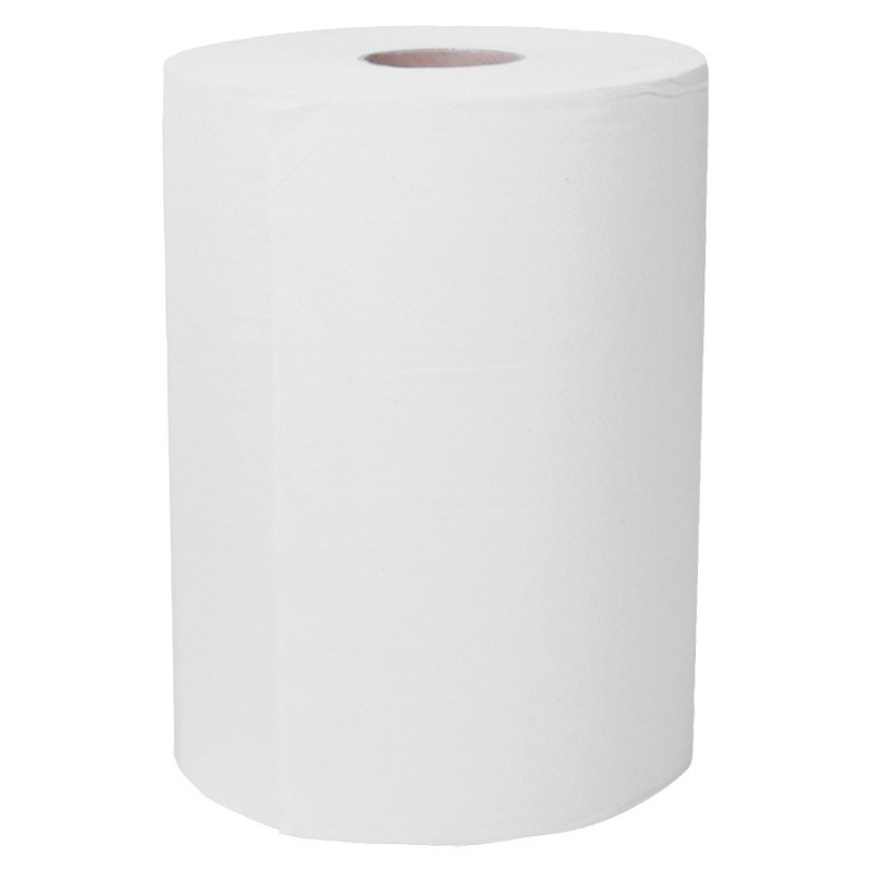Very Low Lint Window Glass Cleaning Paper Tissue Roll