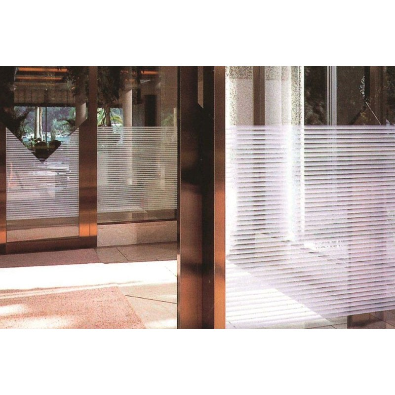 Patterned Decorative White Window Film Frosted Glass Film