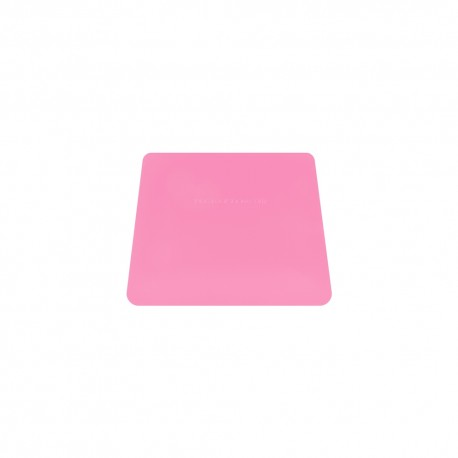 TEFLON PINK MED HARD CARD SQUEEGEE
