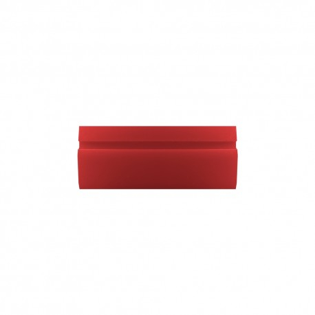 "3"" Hard Red Turbo Squeegee"