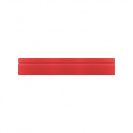 "18"" Hard Red Turbo Squeegee"