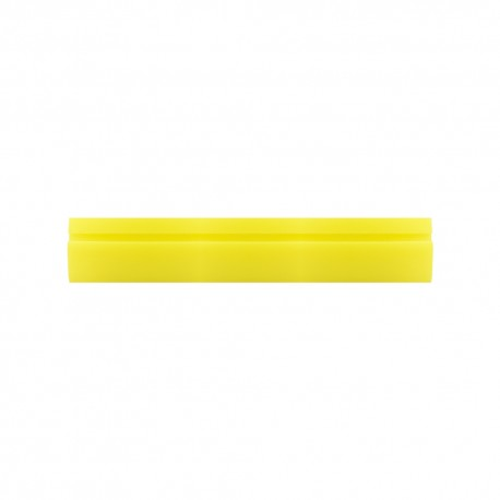 "18"" Soft Yellow Turbo Squeegee"