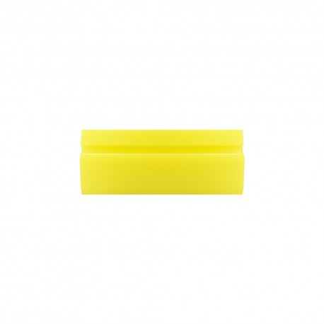 "6"" Soft Yellow Turbo Squeegee"