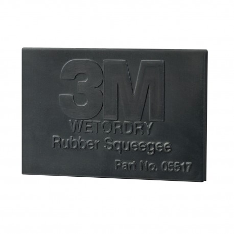 3M Wet – Dry Squeegee Black Rubber - Pro Window Tinting Tint Film Fitting Tool