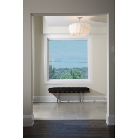 Blue 34 Transparent Colourful Window Film Optically Clear Tint