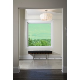 Green 35 Transparent Colourful Window Film Optically Clear Tint