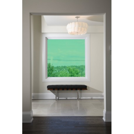 Green 40 Transparent Colourful Window Film Optically Clear Tint