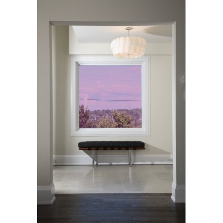 Purple 30 Transparent Colourful Window Film Optically Clear Tint