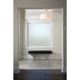 Plain White Frosted Window Film