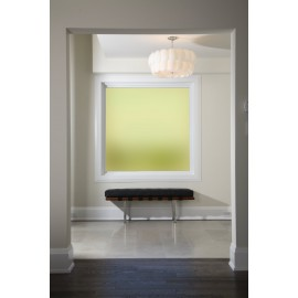 Plain Yellow Frosted Window Film