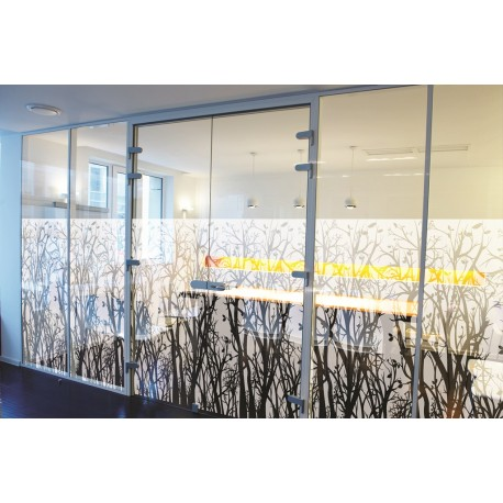 Tree and Leaf Pattern, Decorative Patterned Window Film, 152cm FLO