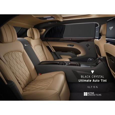 Black Crystal Ultimate 15% Car Tint