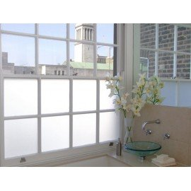 White Frosted Privacy Window Film