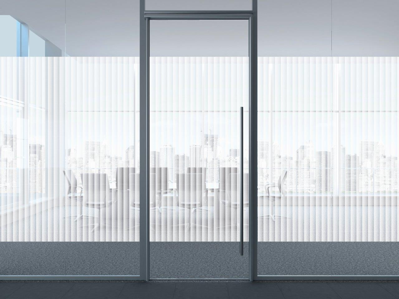 Patterned Decorative White Frosted Window Film Privacy